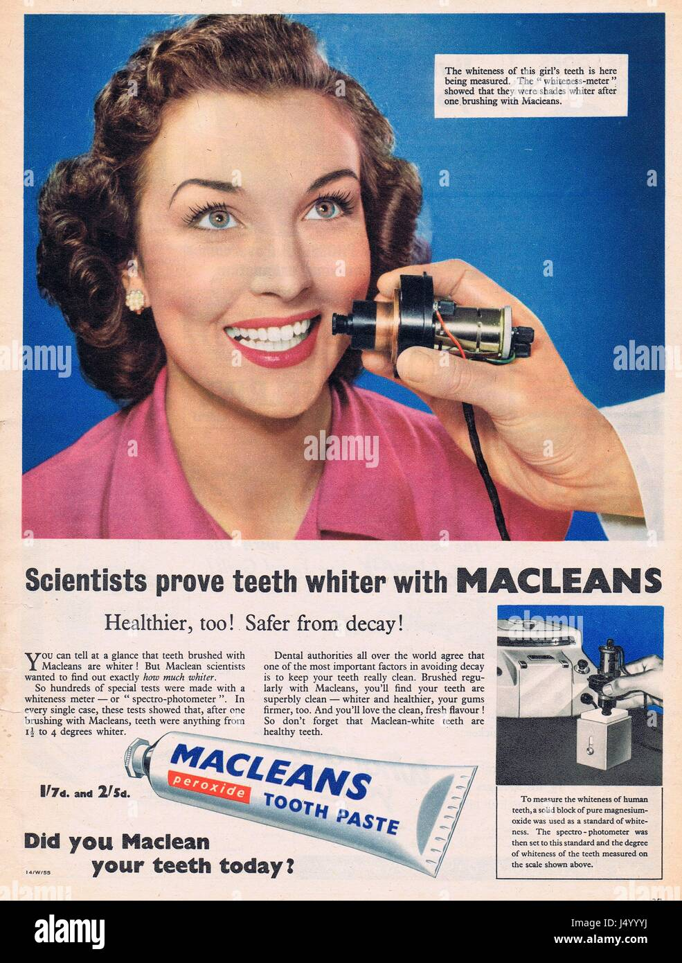 Toothpaste Advertisement High Resolution Stock Photography