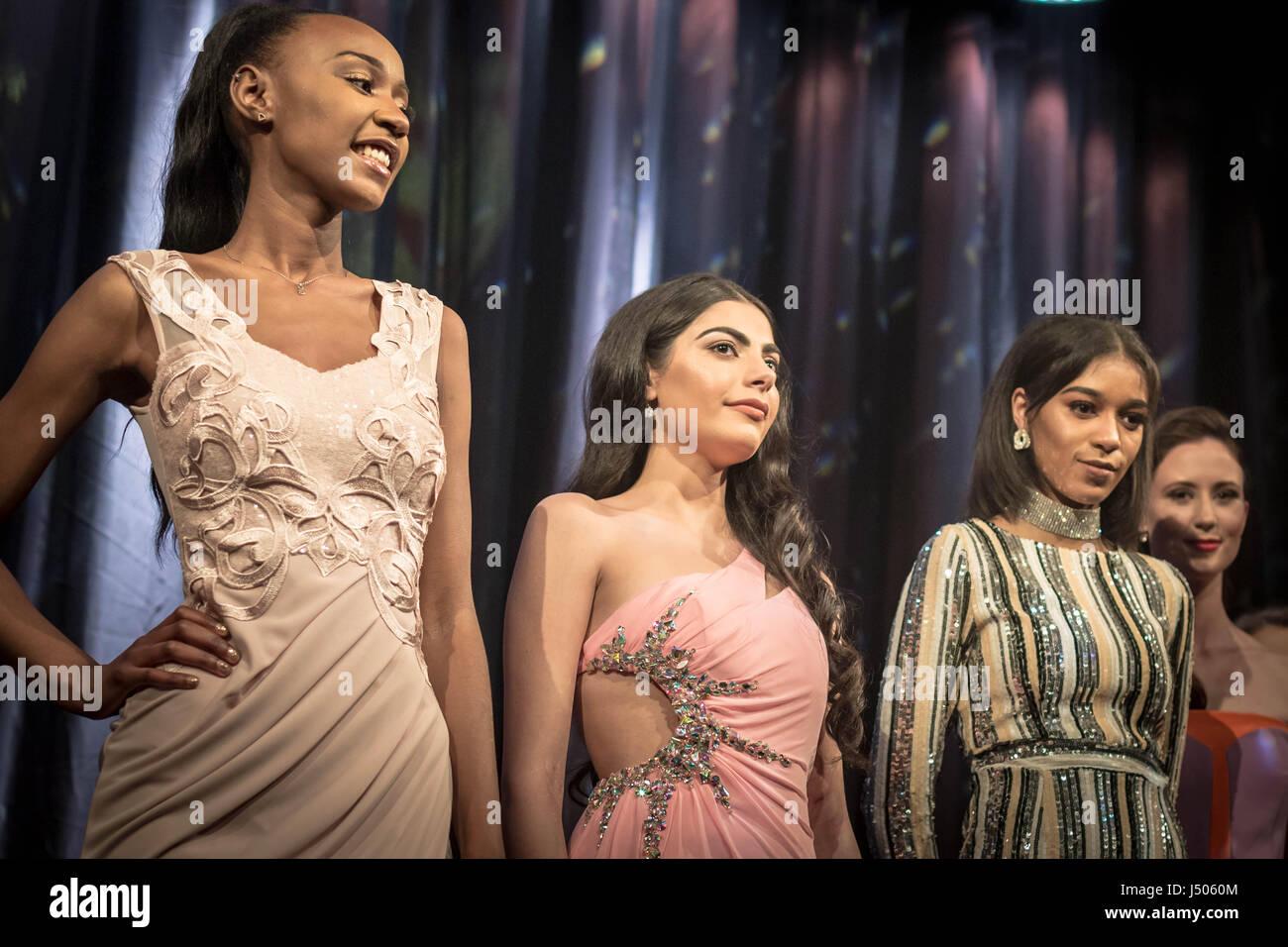 London, UK. 12th May, 2017. Miss London 2017 Finale © Guy Corbishley/Alamy Live News Stock Photo