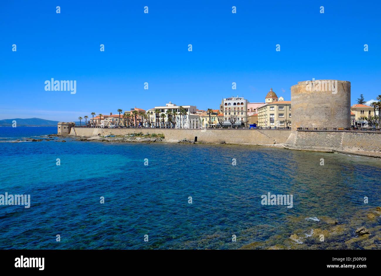 alghero, sardinia, italy - Stock Image