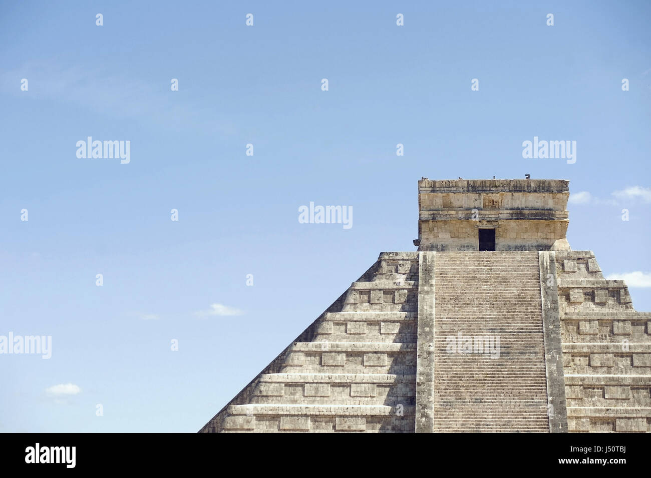 mexican ruins Chichén Itzà - Stock Image