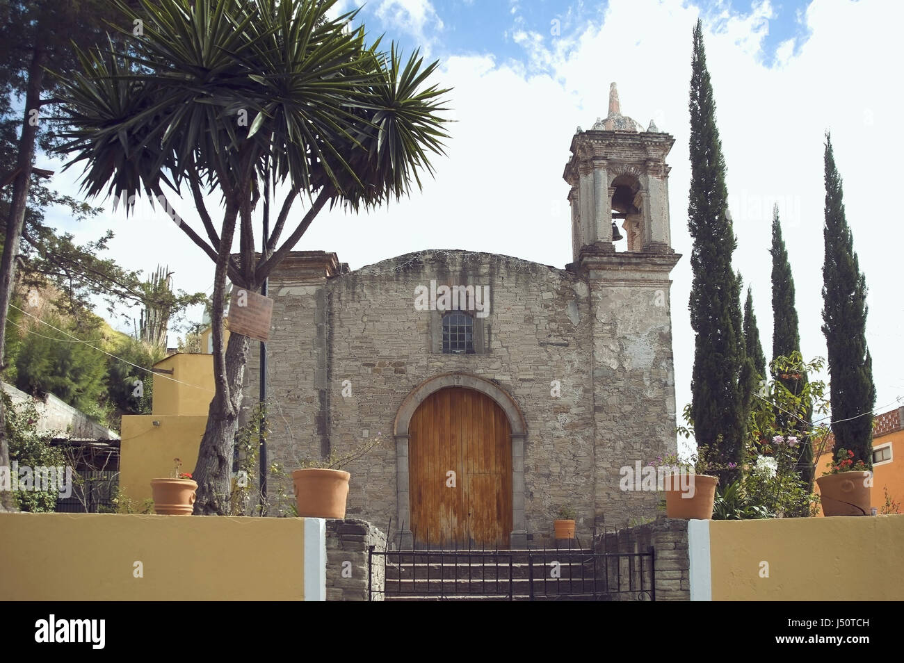 mexican church - Stock Image