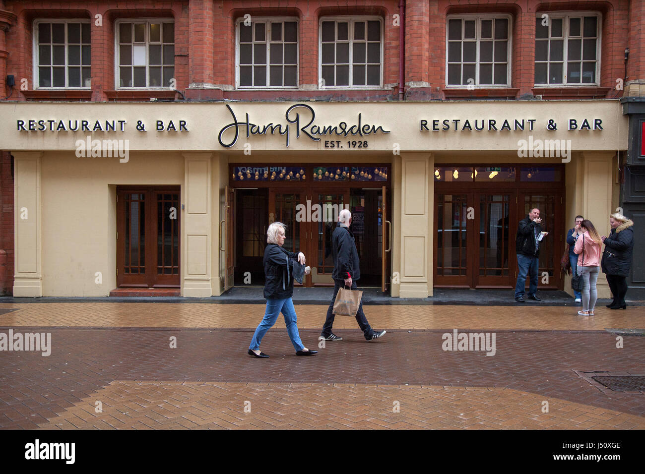 Harry Ramsden, Restaurant & Bar, Blackpool, Lancashire, UK Stock Photo