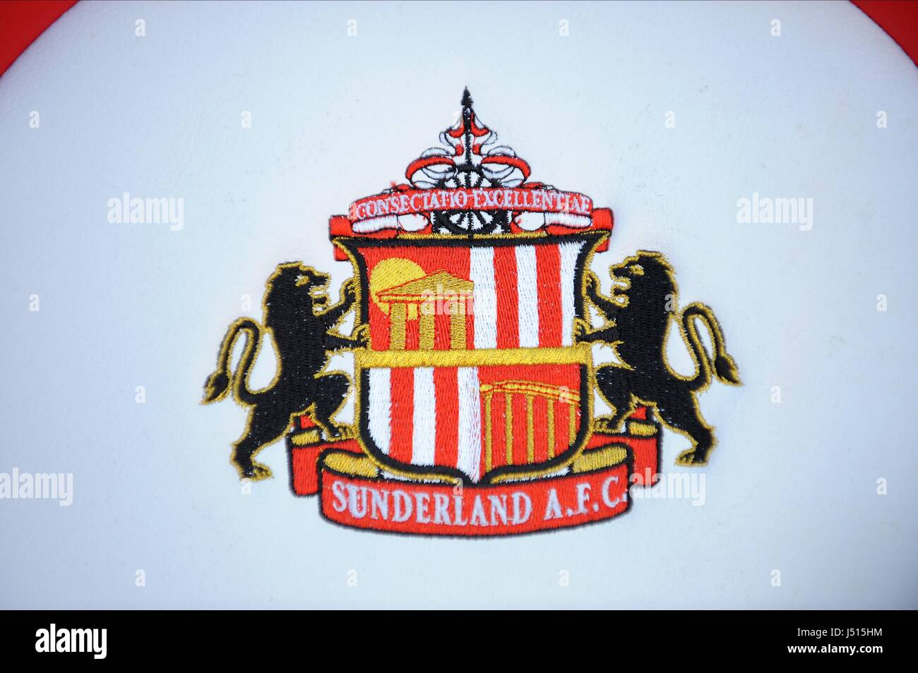 SUNDERLAND FC OFFICIAL CLUB BA SUNDERLAND FC V ARSENAL FC STADIUM OF LIGHT SUNDERLAND ENGLAND 25 October 2014 - Stock Image