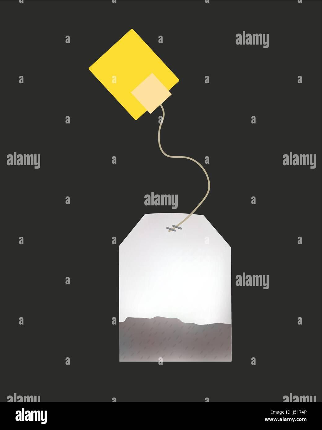 Tea Bag Label Template from c8.alamy.com