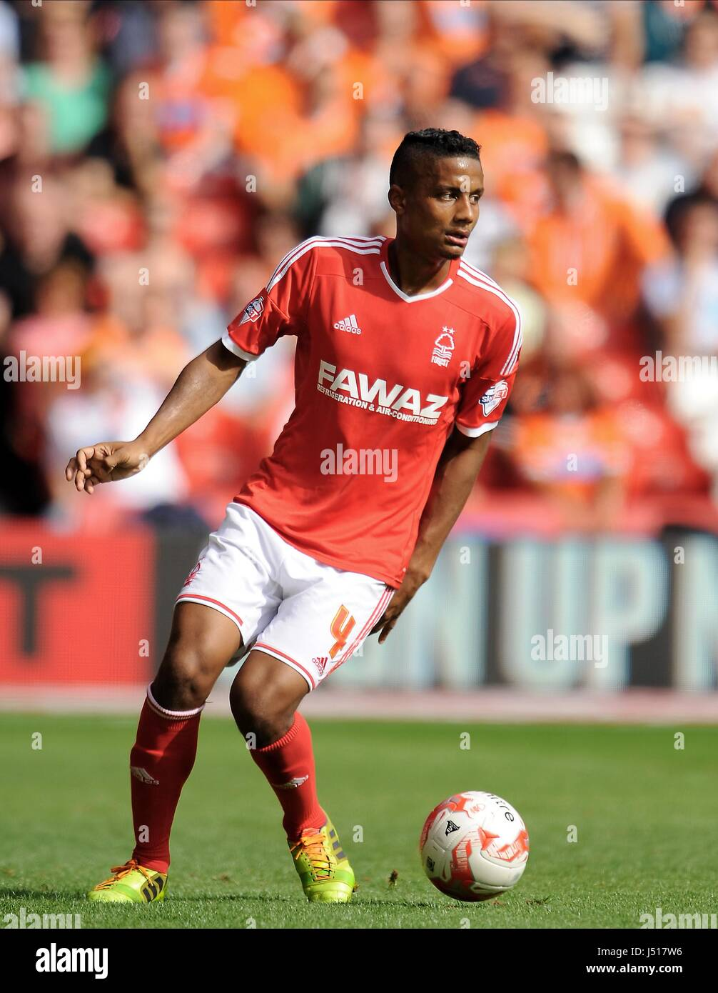 MICHAEL MANCIENNE NOTTINGHAM FOREST FC THE CITY GROUND NOTTINGHAM ENGLAND  09 August 2014 - Stock Image f091145802354