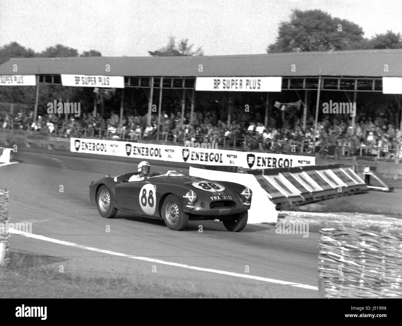 MGA twin cam, Olthoff 1961 Goodwood - Stock Image