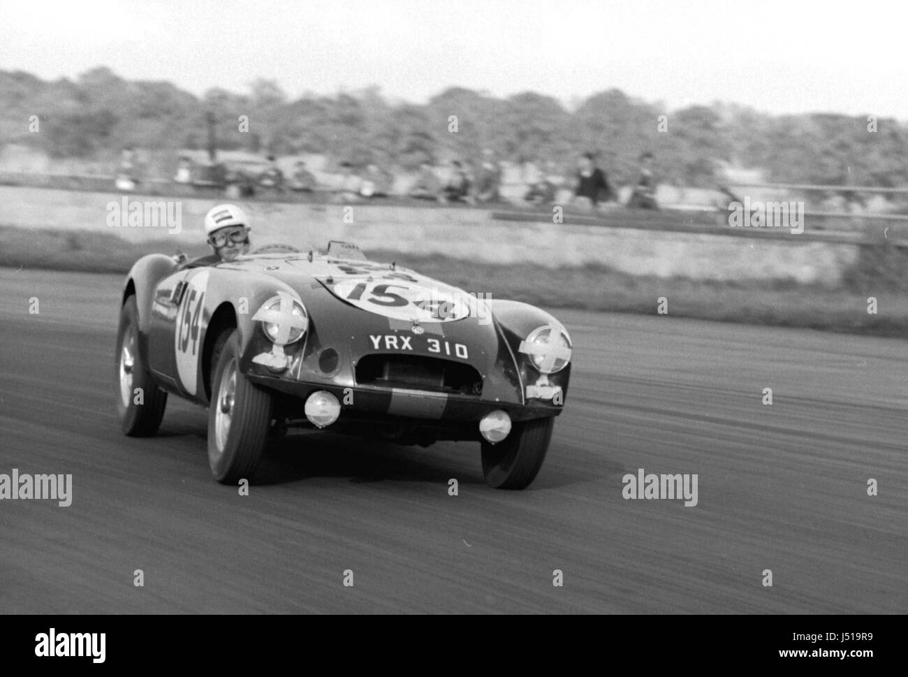 MGA twin cam, Olthoff 1961 Silverstone Clubmans - Stock Image