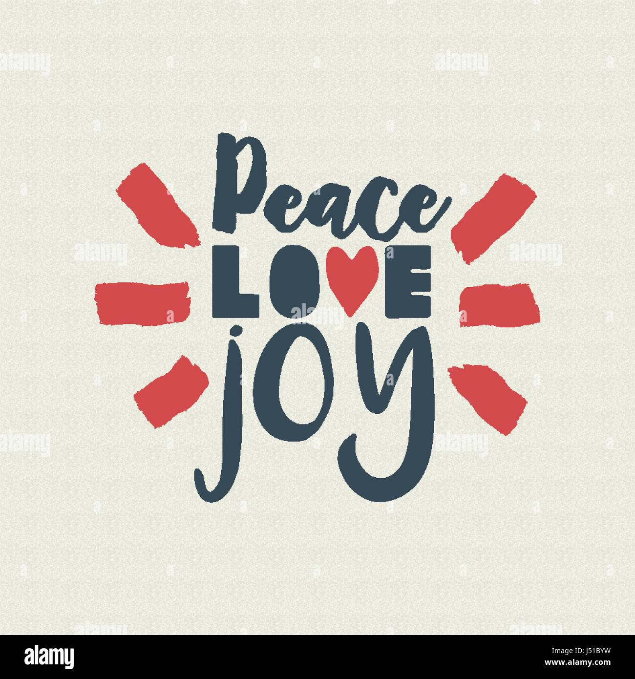 Merry christmas vintage calligraphic quote design peace love joy merry christmas vintage calligraphic quote design peace love joy lettering illustration for holiday season greeting card eps10 vector m4hsunfo