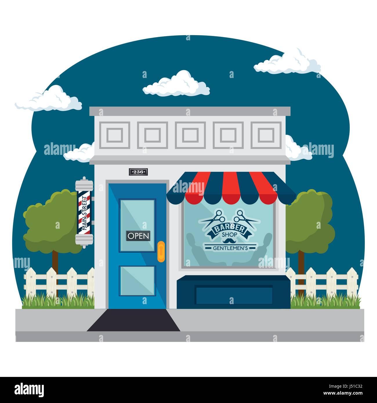 Shopping stores design Stock Vector