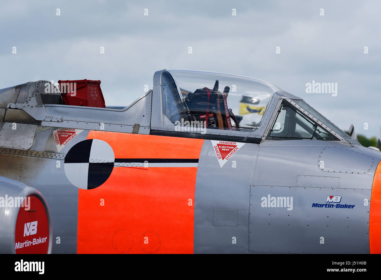 Ejection Seat And Martin Baker Aircraft Stock Photos