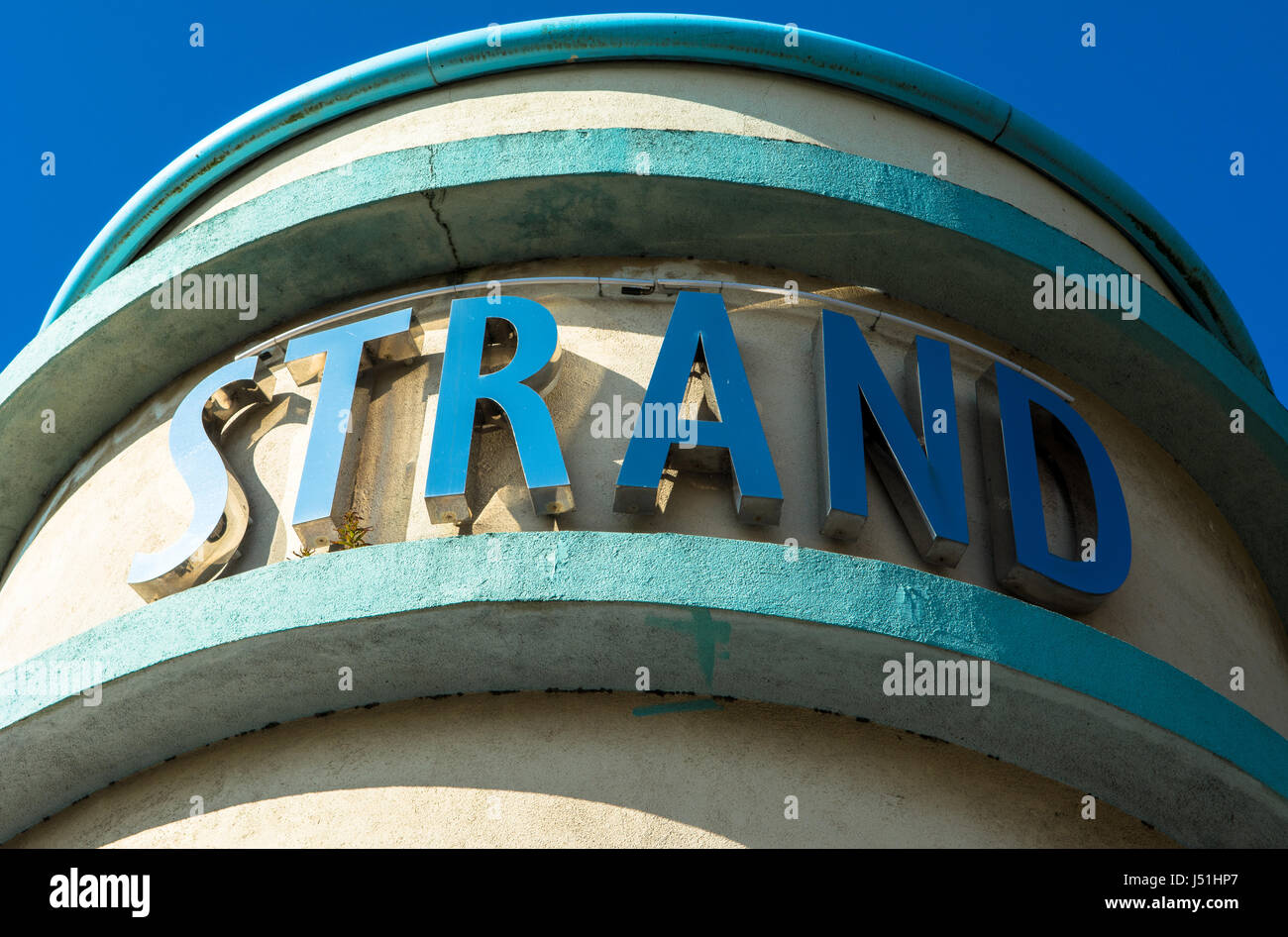 Strand Cinema East Belfast Northern Ireland - Stock Image
