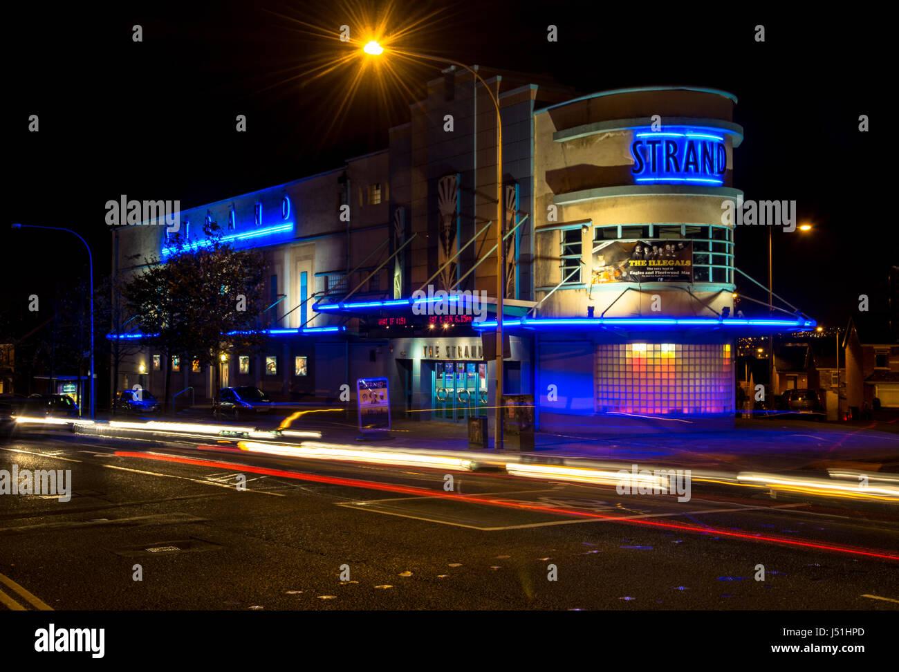 Strand Cinema East Belfast Northern Ireland - Stock Image