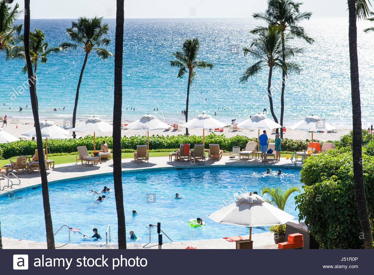 Mauna kea beach hotel stock photos mauna kea beach hotel - Hotels with saltwater swimming pools ...