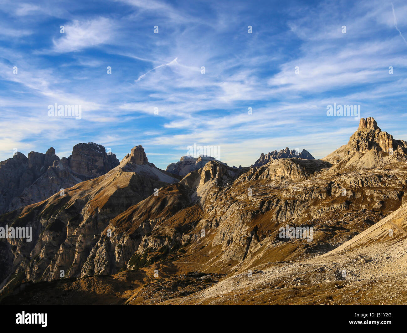 Dolomiti Stock Photo