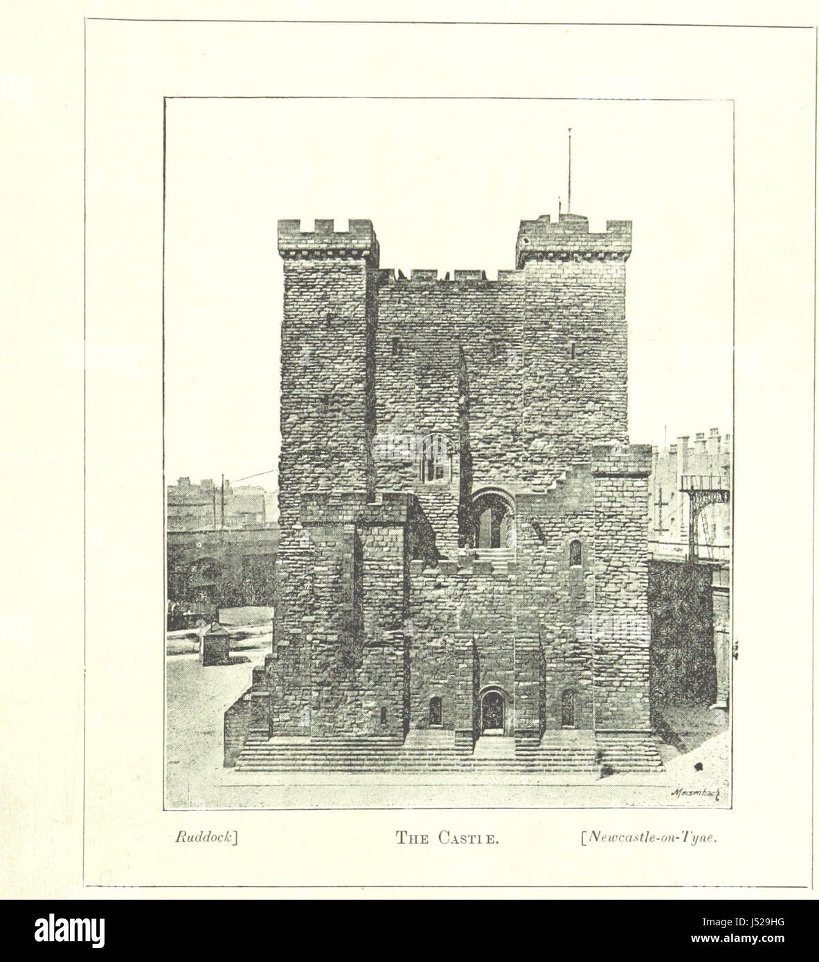 Image taken from page 21 of 'Newcastle. Illustrated' Stock Photo