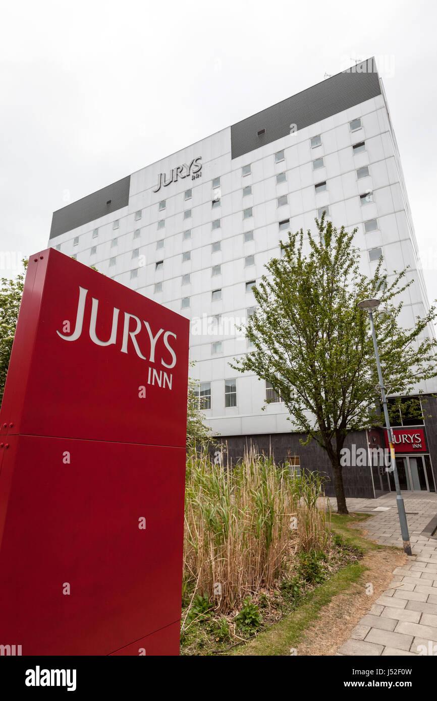 Jurys Inn Hotel, Middlesbrough - Stock Image