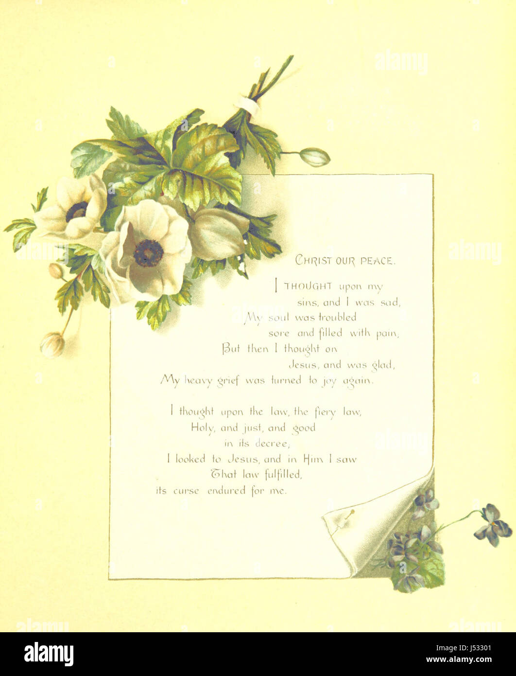 """Songs of Love and Joy  Poems  [Hymns selected from """"Hymns of"""