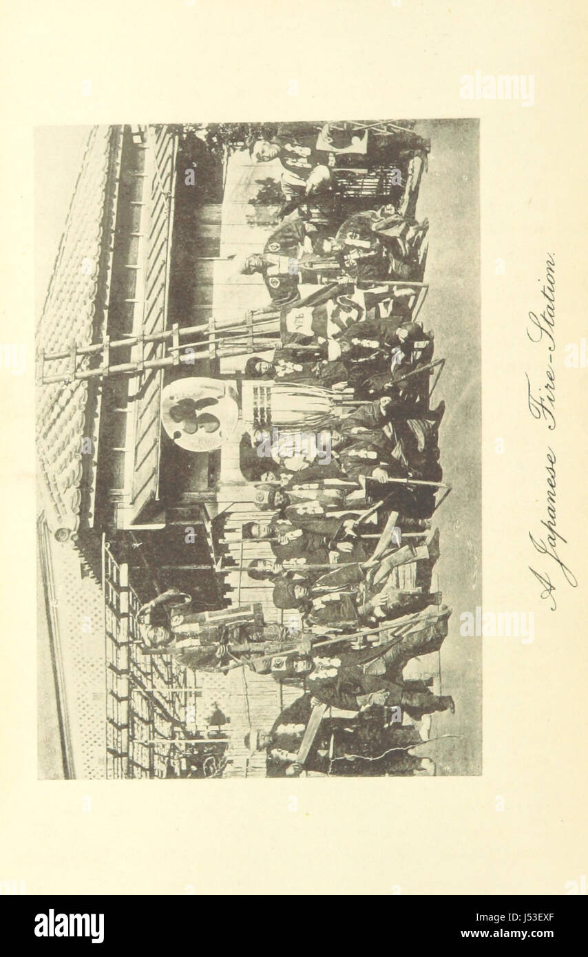 Image taken from page 114 of 'The Japs at Home' Stock Photo