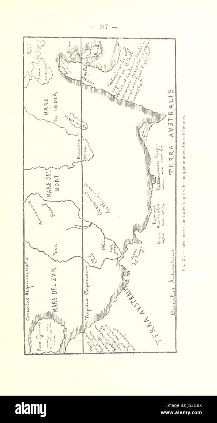 Image taken from page 333 of 'Le Continent austral. Hypothèses et découvertes' Stock Photo