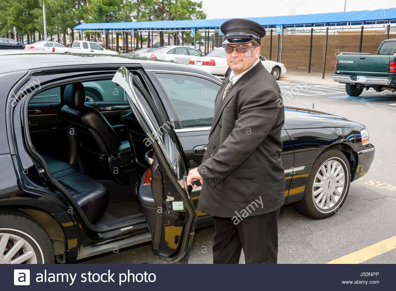 Little Rock Arkansas Little Rock National Airport Man Chauffeur