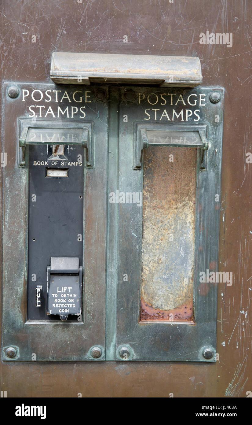 Details about  /Antique Stamp Vending Machine 1920s