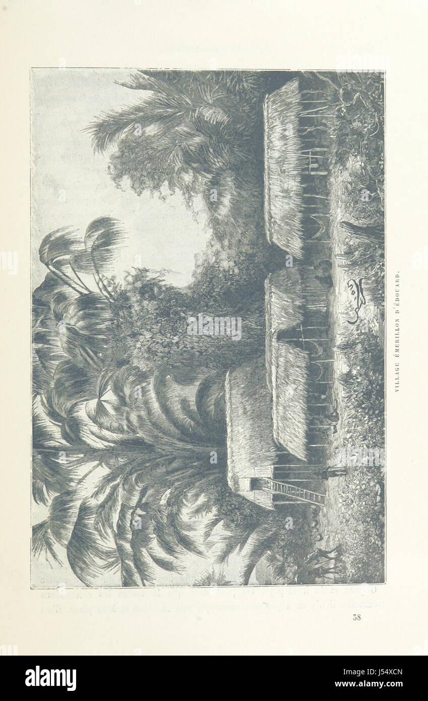 Chez nos Indiens. Quatre années dans la Guyane française, 1887-1891. Ouvrage contenant 98 gravures [including - Stock Image
