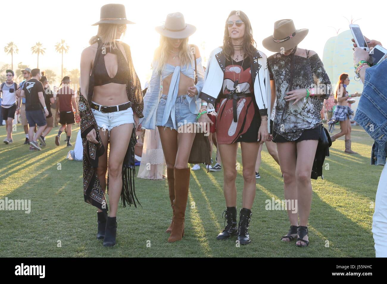Coachella 2017 Week Day Celebrity Stock Photos