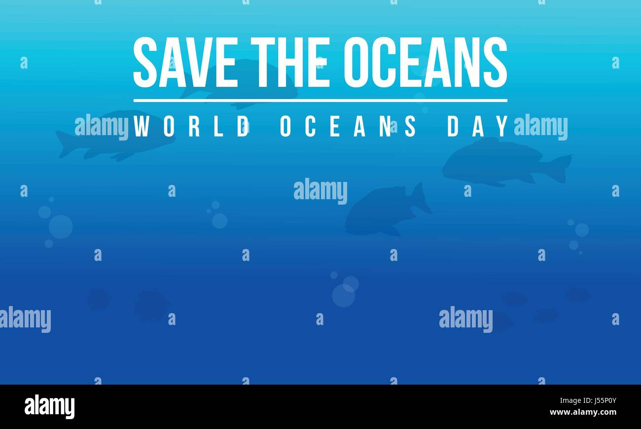 Ocean day style background collection - Stock Image