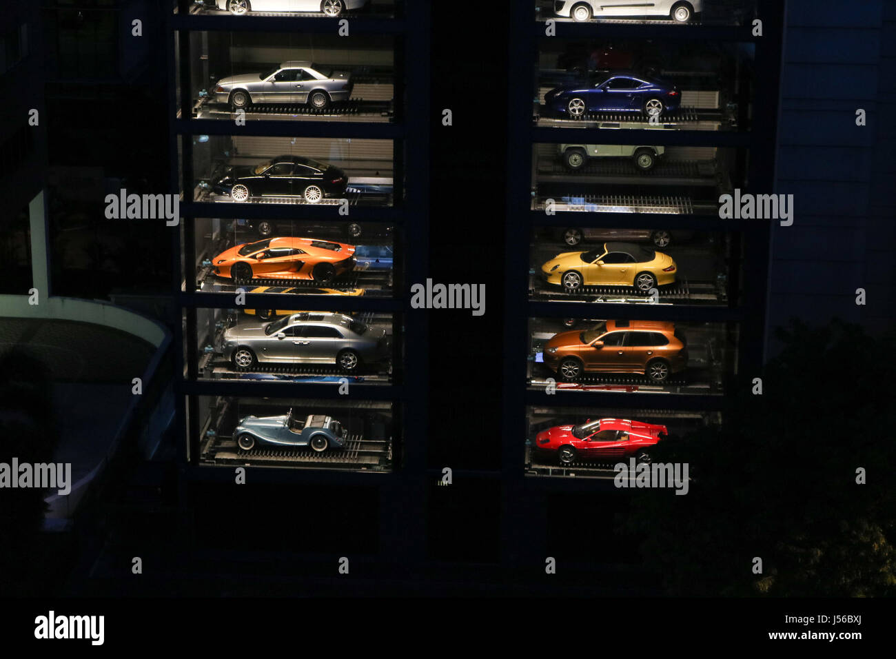 Singapore Car Vending Machine Stock Photos Singapore Car Vending
