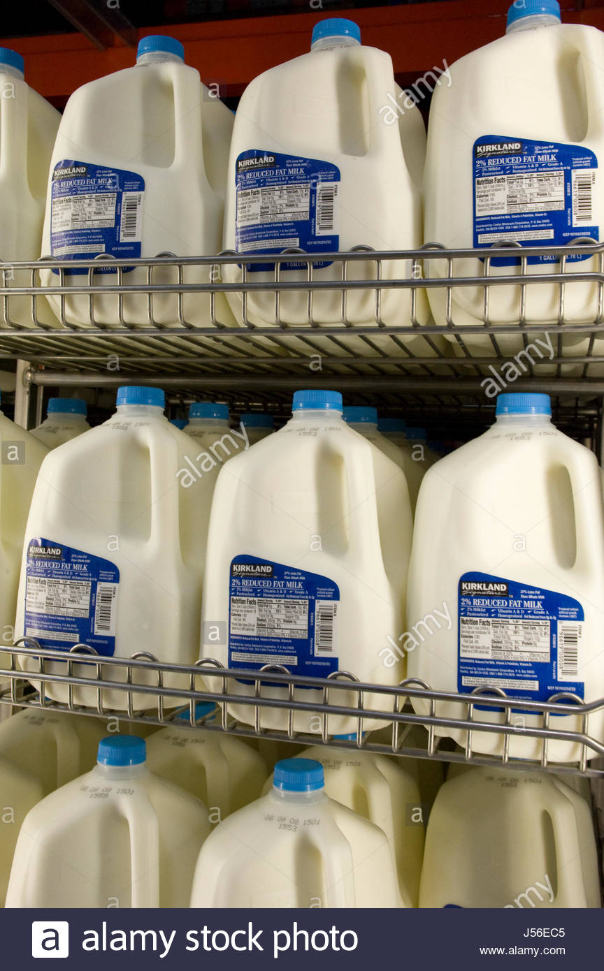 Gallon Milk Stock Photos Amp Gallon Milk Stock Images Alamy