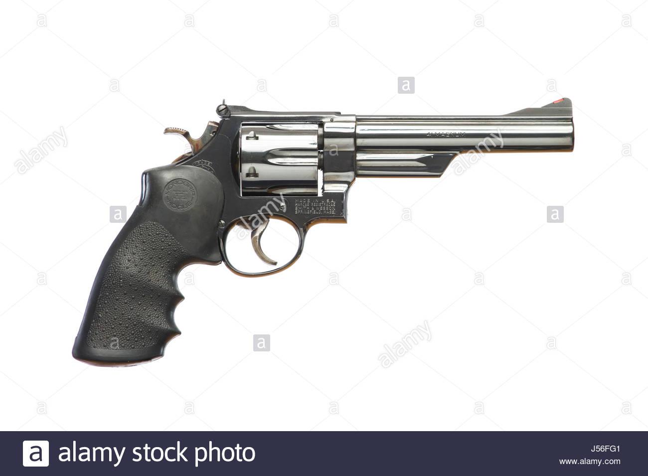 Smith & Wesson Model 57, N Frame, 6 inch barrel revolver pistol ...