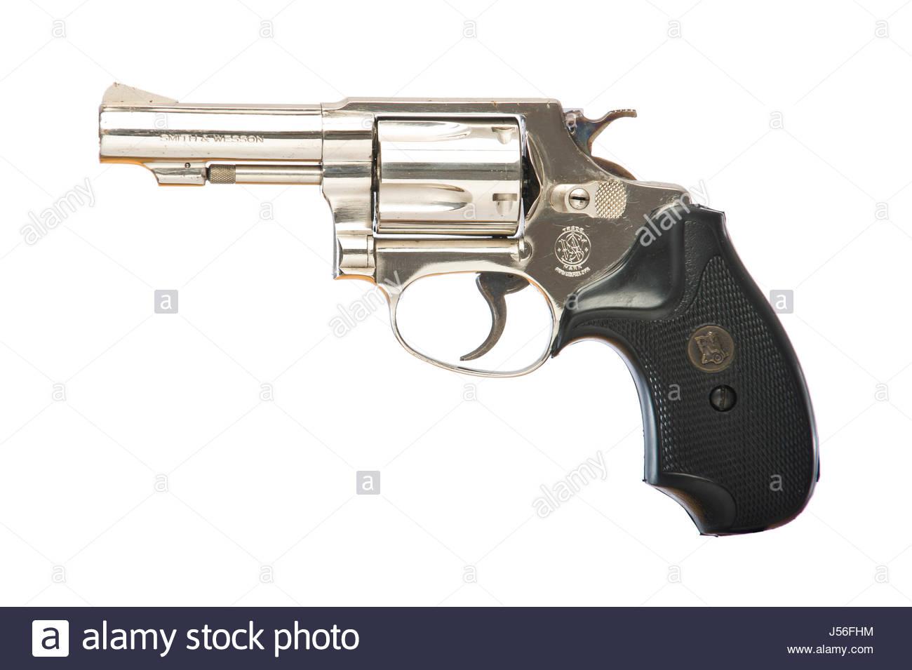 Smith & Wesson Chief Special, J Frame, .38 Special caliber revolver ...