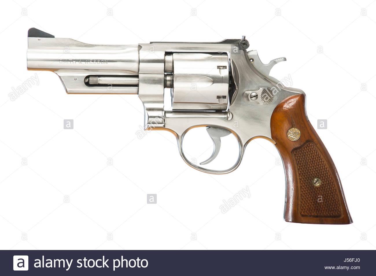 Smith & Wesson 44 special CTG, N frame 4 inch barrel revolver pistol ...