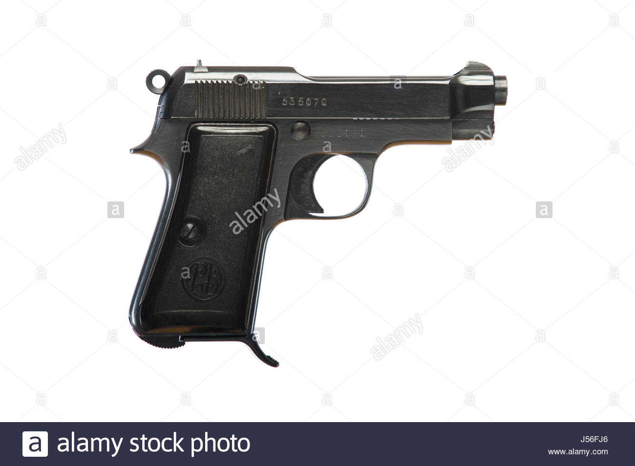P Beretta 765-Brevettat Model-1934, .32 caliber automatic pistol, captured