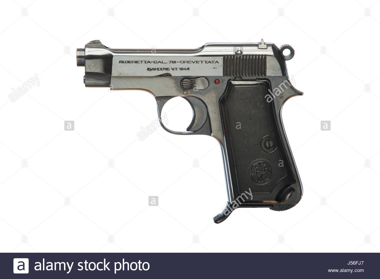 P Beretta 765-Brevettat Model-1934, .32 caliber automatic pistol, captured