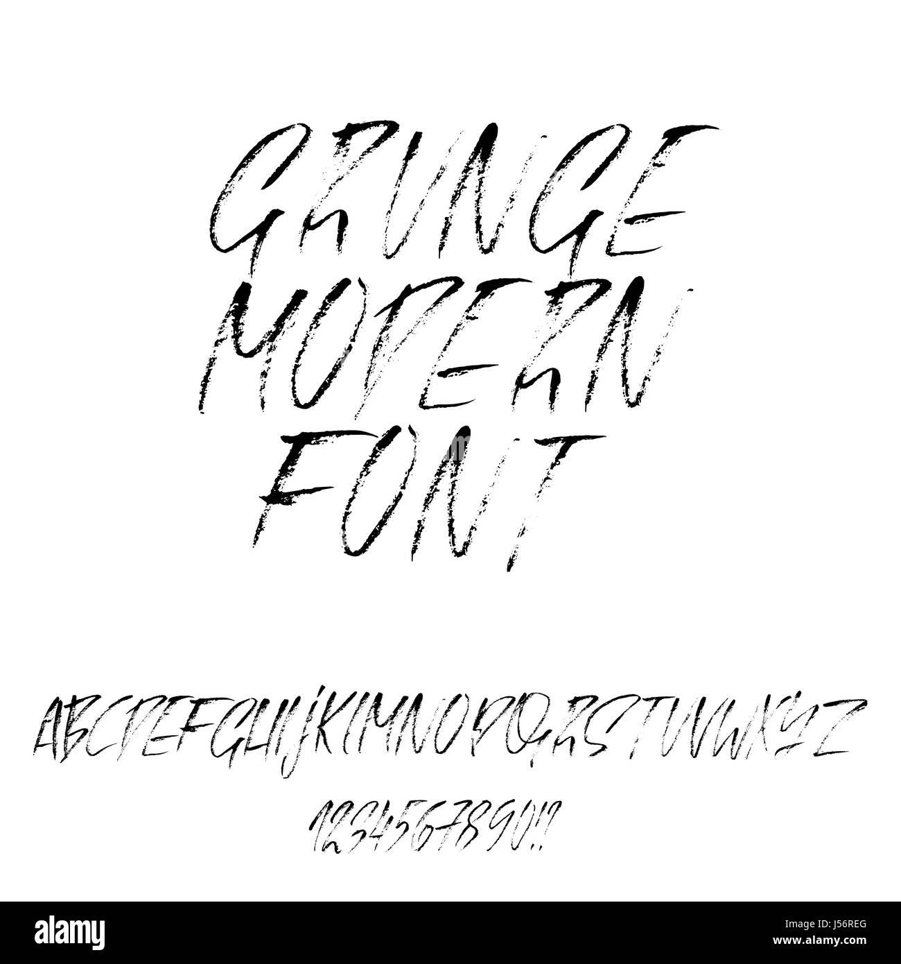 Graffiti Font Alphabet Stock Photos & Graffiti Font Alphabet