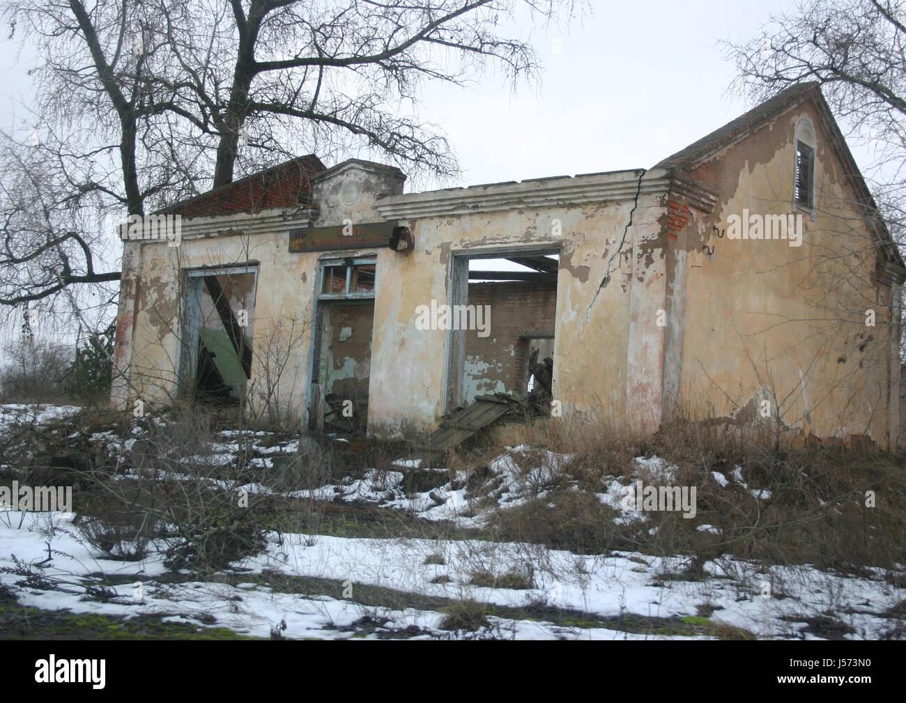 chernobyl,rogachov,verlassene zone - Stock Image