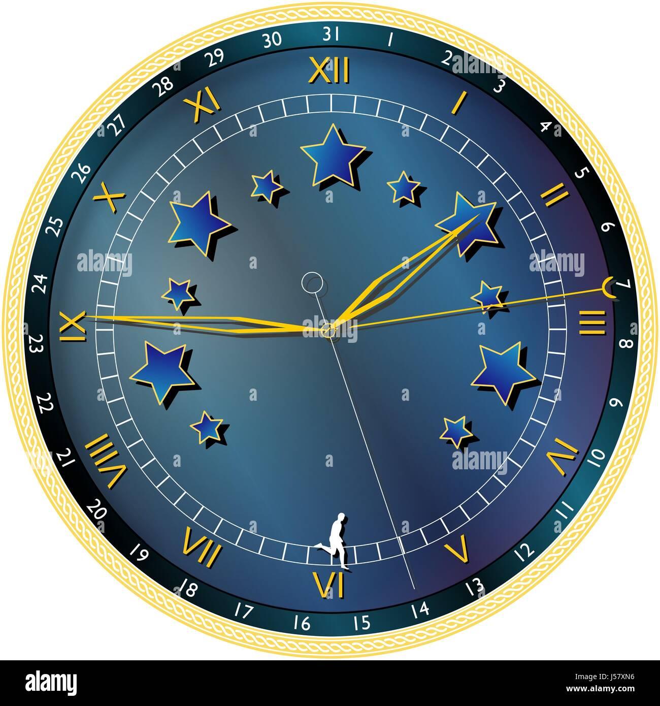 chronograph - Stock Image