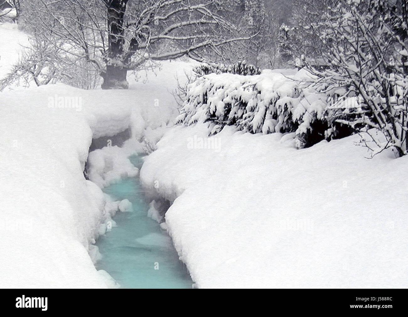winter in gosau 04 Stock Photo