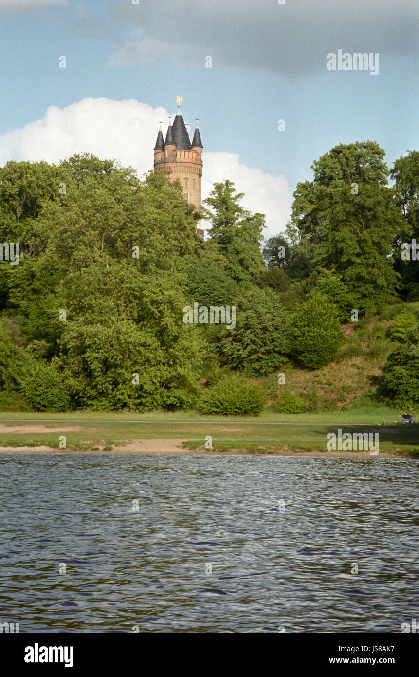 flatow tower in babelsberg Stock Photo