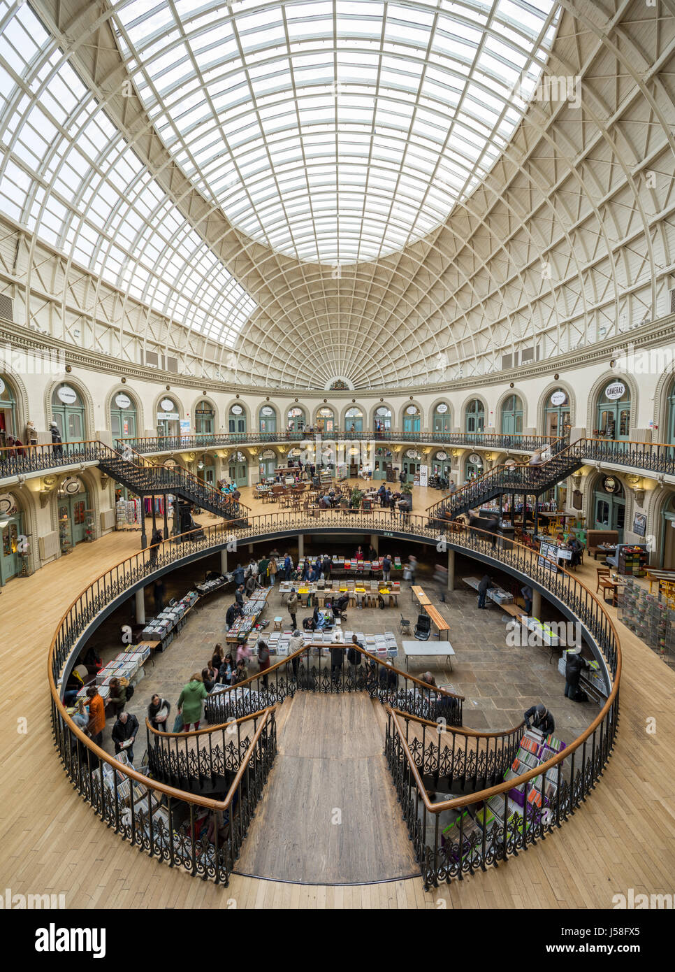 Leeds Corn Exchange - Stock Image