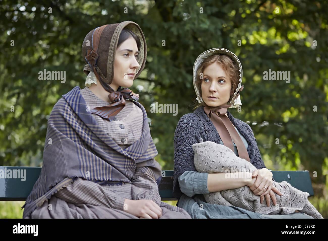 DARK ANGEL 2016 PBS film with Joanne Froggatt at right and Laura Morgan - Stock Image