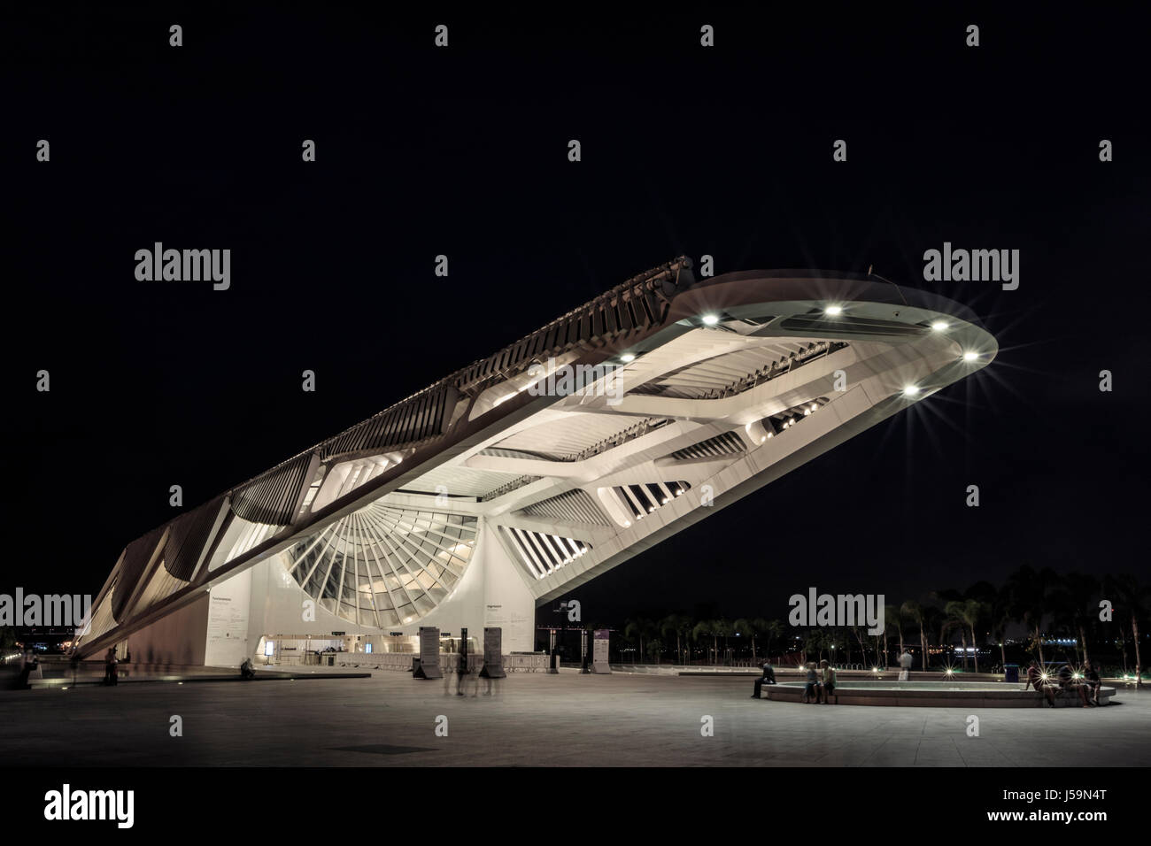 Museum of Tomorrow, Rio de Janeiro - Stock Image
