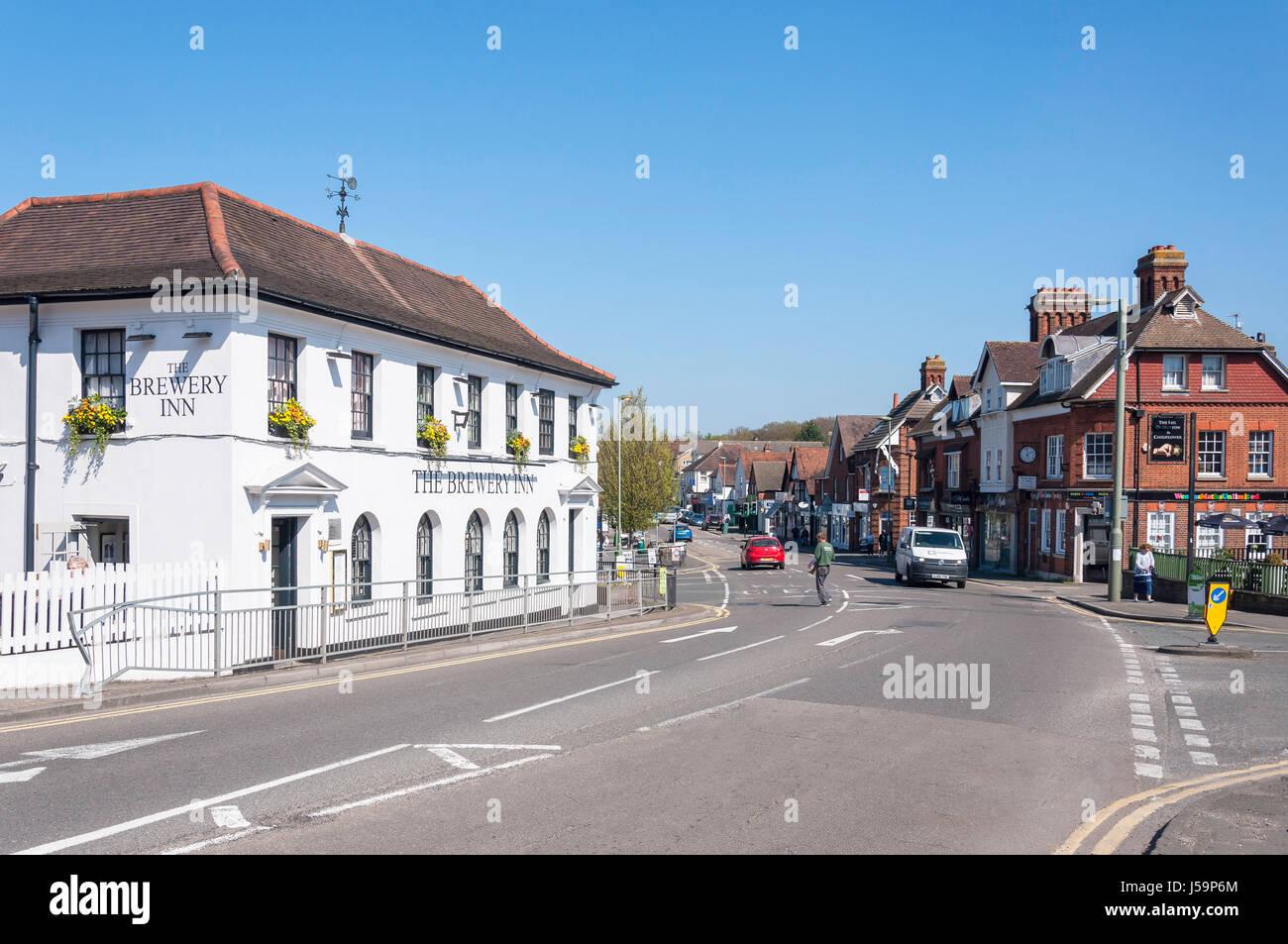 The Street, Ashtead, Surrey, England, United Kingdom Stock Photo