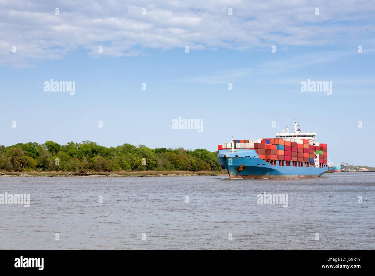 Savannah Port Stock Photos & Savannah Port Stock Images - Alamy