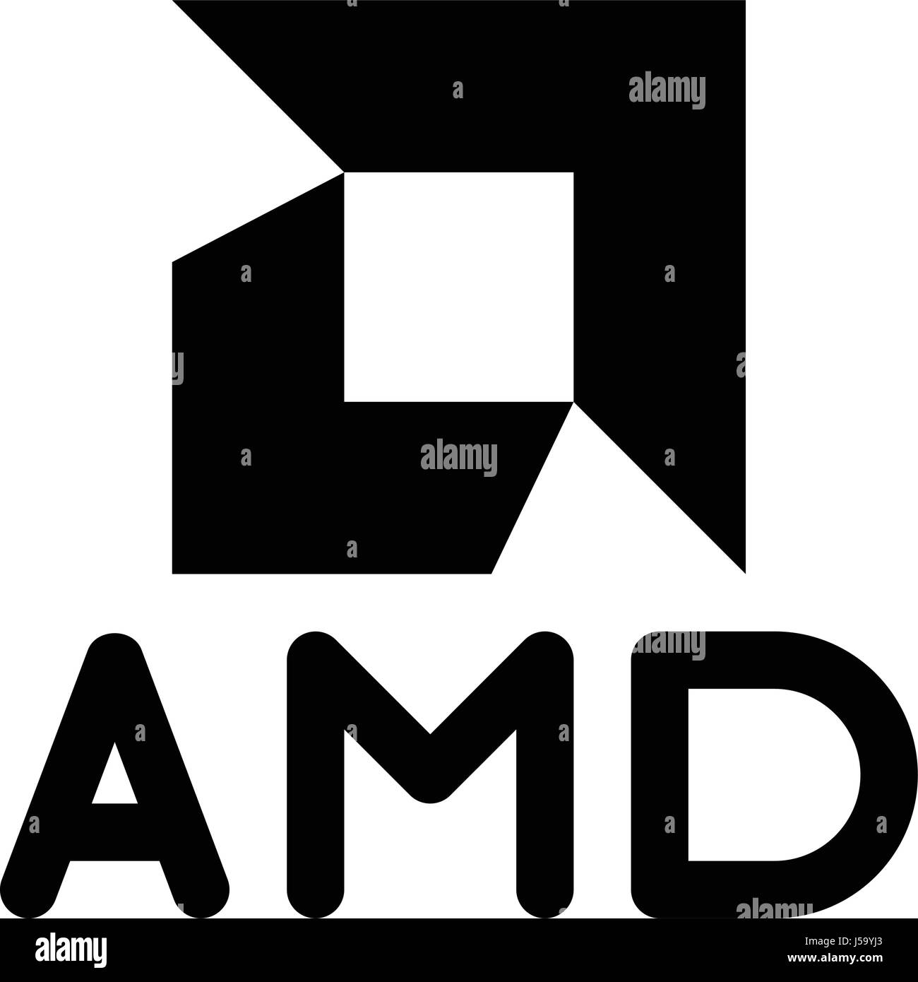 amd - Stock Vector