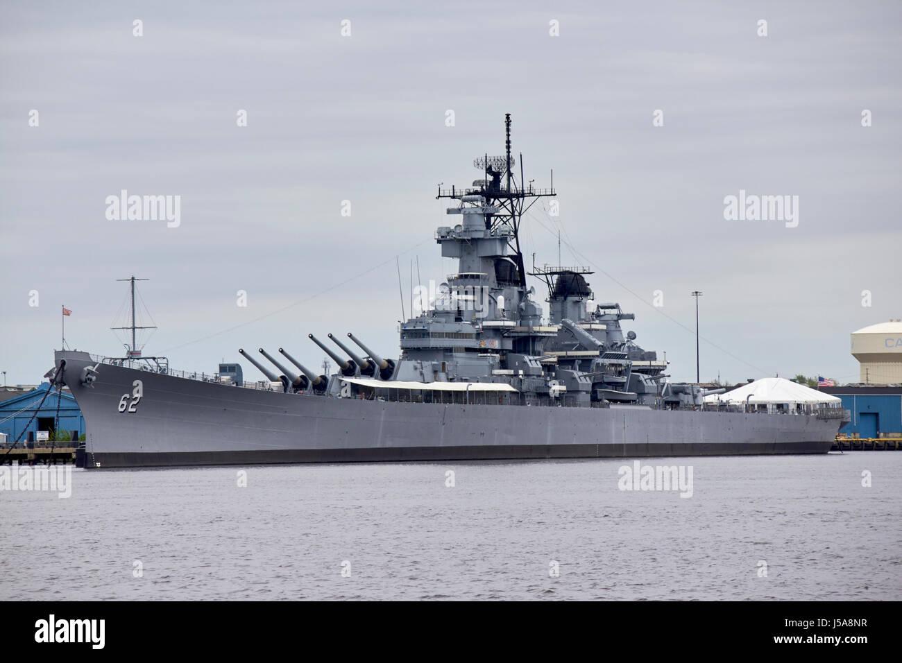 Battleship New Jersey Stock Photos & Battleship New Jersey ...