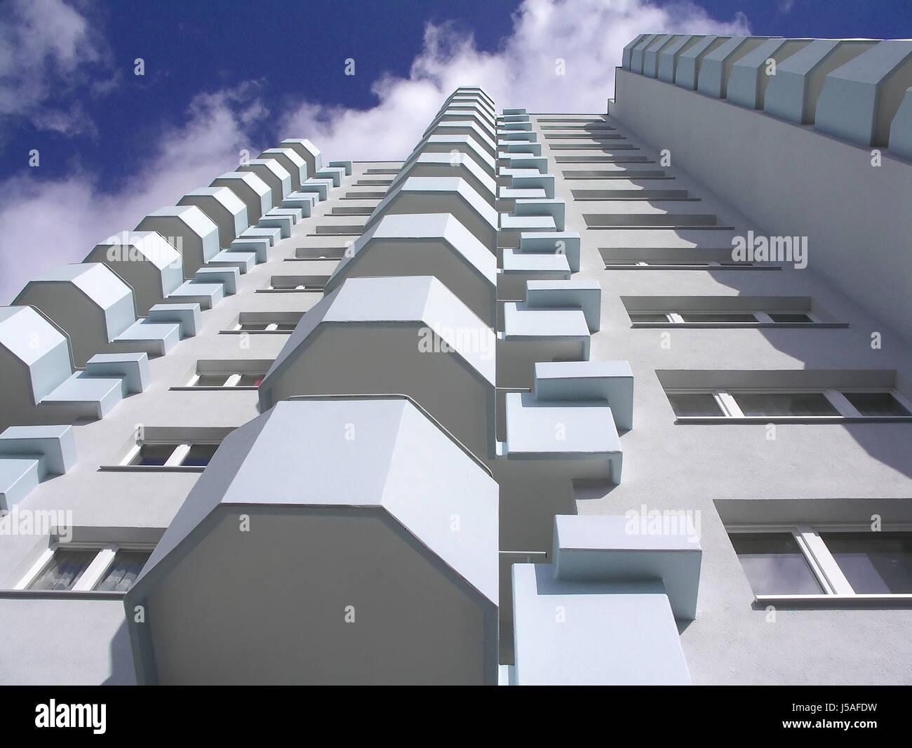 sattellite city v - Stock Image