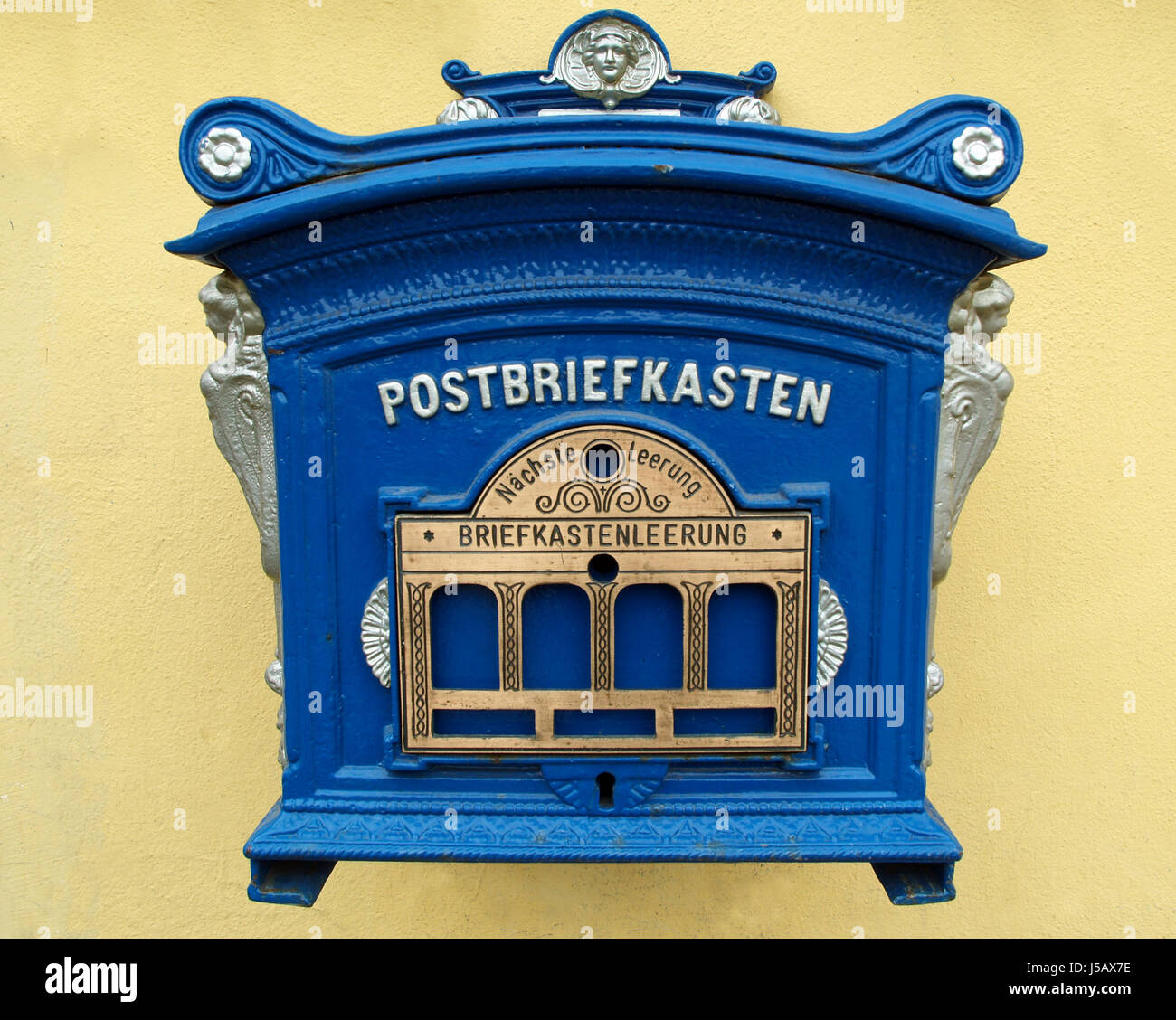 Antique Mailbox Letter Mail Mailboxes Post Old Postbriefkasten Stock Photo Alamy