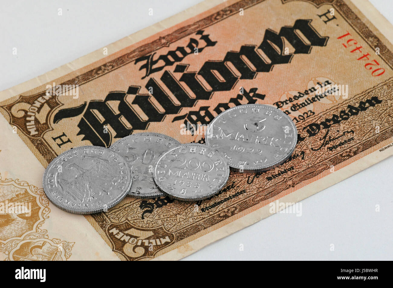 as were all millionaires Stock Photo